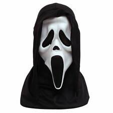 Official Howling BLANC SCREAM Masque Horreur & hotte Halloween