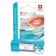 Eveline Lip Therapy 8 in 1 TOTAL ACTION  Lips Concentrated Serum -Sensitive