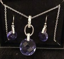 Avon SHINE ON Necklace Earring Gift Set New & Boxed 2014