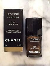CHANEL MOSCOU COLLECTION - 327 OR DE RUSSIE NAIL POLISH - LTD EDITION - BNIB!!!