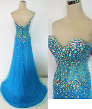 PAPARAZZI by MORI LEE 95074 BLUE Prom Gown 4 - NWT $398