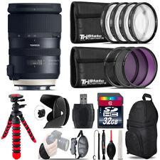 Tamron 24-70mm VC G2 for Nikon + Macro Filter Kit & More - 32GB Accessory Kit