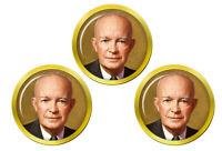 President Dwight Eisenhower Marqueurs de Balles de Golf