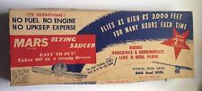 1950s MARS FLYING SAUCER KITE TOY, COMPLETE IN BOX, E. J. SOUTHERN, BROOKLYN, NY