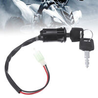 Motorcycle Ignition Barrel Key Switch 2 Wire On/Off Motorbike Switch New