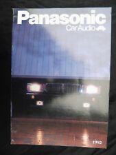 PANASONIC CAR AUDIO PROSPEKT aus 1992,SEITEN 32,TECH.DATEN,CX DP15,CY RM 60,RM5