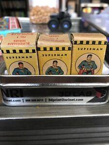 Super Man Acme Film Strip Mini Series 1, Series 2, And Series 12, Very Rare