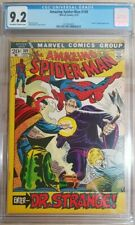 1972 Amazing Spider-Man #109 CGC 9.2 1st Doctor Dr Strange in ASM on Cover RARE