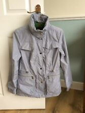M&S Collection Jacquard Anorak Jacket With Stormwear Bodysensor Size 8.New.