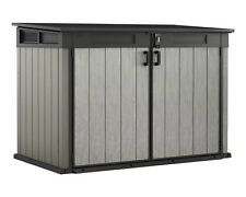 Ondis24 Keter Grande Store XXL Gartenbox Geräteschuppen 2020L für 3 Mülltonnen