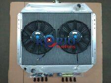 Alloy Radiator+FAN FORD F100 F150 F250 F350 V8 1967-1981 1971 1972 1973 1974