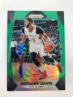 2017-18 Panini Prizm Prizms Green #121 Anthony Davis LA Lakers Hot