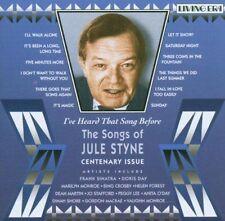 I've Heard That Song Before: The Songs of Jule Styne by Jule Styne (CD,...
