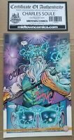 Curse Words #16 Comic - Invisible Variant Cover Signed By Charles Soule