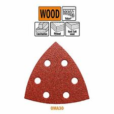 Cmt 10 X abrasivo triangular velcro 93 grana de V 60
