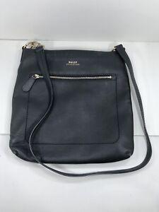 Bally Crossbody Black Leather Bag