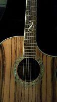 Ibanez EW20ZWENT Acoustic / Electric Guitar zebra wood