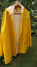 YELLOW PVC OIL SKIN SUIT (Jacket and Trousers) Size XXL (Made in China)