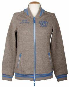 Harry`s Horse dicke Damen Fleece Jacke,bräunlich hellblau, Gr. M Rochdale