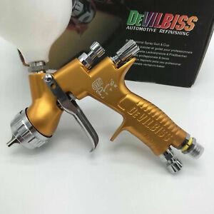 Devilbiss GTI PRO LITE Gold Car Paint Tool Pistol Spray Gun TE20 1.3mm