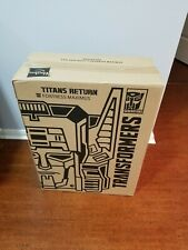 Transformers SDCC 16 Exclusive Fortress Maximus Titans Return Hasbro SEALED