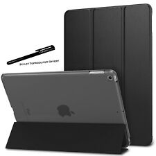 Coque Smart Noir pour Apple iPad 10.2 2020 Etui Folio Ultra fin