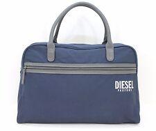 DIESEL PARFUMS HOLDALL DUFFLE WEEKEND GYM SPORTS TRAVEL BAG MEN'S DARK BLUE