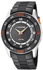 Calypso Uhr by Festina Herren K6062/1 silber Armbanduhr Beleuchtung 10 ATM