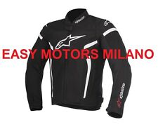 GIACCA GIUBBINO ALPINESTARS MOTO SCOOTER T-GP PLUS R V2 AIR JACKET NERO BIANCO