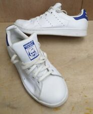 Adidas Originals Stan Smith Trainers All Triple White Leather Women's UK 4