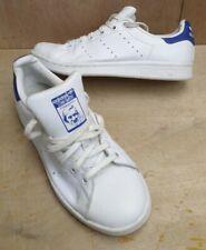 Adidas Originals Stan Smith zapatillas todos los de Cuero Blanco Triple Para Mujer Reino Unido 4