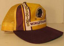RARE 1982 WASHINGTON REDSKINS WORLD CHAMPS NEW ERA Vintage Snapback HAT NFL USA