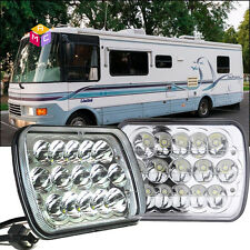 2X LED Headlight Hi/Lo Sealed Beam fit 1993 -99 National RV Sea breeze Motorhome