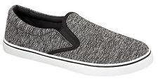 Mens Boys Slip On Canvas Espadrilles Pumps Plimsolls Beach Holiday Shoes Size