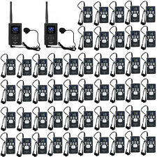 Wireless Tour Guide System for Guiding Meet 2*FM Transmitter + 58*Radio Receiver