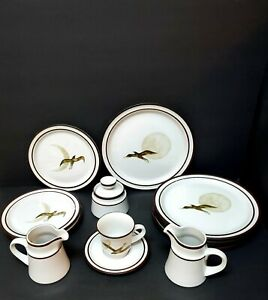Noritake Stoneware Moon Flight dish set 26 Pcs