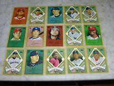 2008 Topps Baseball Target T205 Complete Set of 15