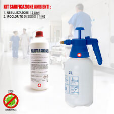 Sanificatore aziende negozi scuole Nebulizzatore pompa disinfettante Antibatteri