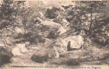 Bosque de Fontainebleau Barbizon - Sentier de la cueva bandidos