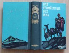 Karl May Das Vermächtnis des Inka Buchgemeinschafts-Ausgabe