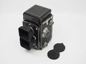 Rolleiflex Bay I Lens Hood/Shade and Dual Cap for Automat Model 3 (no camera)