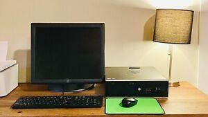 Office Computer Setup: hp desktop computer i5