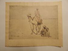 E. J. SULPIS - LITHOGRAPHIE / Lithograph - ORIENTALISTE / Orientalist