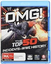 WWE: OMG! The Top 50 Incidents In WWE History [New Blu-ray] Australia - Import