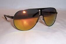New Carrera Sunglasses NEW PANAMERIKA/S R80/UW RUTHENIUM/ORANGE MIRROR AUTHENTIC