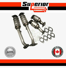 FITS: 2005-2010 Nissan Frontier 4.0L All 4 Catalytic Converters BRAND NEW