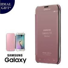 Rose Gold Mirror Flip Leather Protect Case Cover For Samsung Galaxy A5 2017 A520
