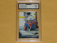 2005-06 UpperDeck Rookie Class Hockey Card # 3 Henrik Lundqvist GRADED 10 GEM-MT