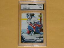 2005-06 UpperDeck Rookie Class Hockey Card # 3 Henrik Lundqvist GRADED 10 GEM-MT
