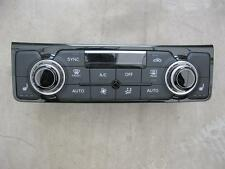AUDI A8 4H D4 Klimabedienteil Klimabetätigung Climatronic Bedienteil 4H0820043K